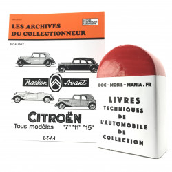 ARCHIVES DU COLLECTIONNEUR CITROEN TRACTION