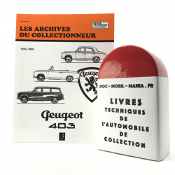 ARCHIVES DU COLLECTIONNEUR PEUGEOT 403