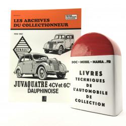 ARCHIVES DU COLLECTIONNEUR RENAULT JUVAQUATRE - DAUPHINOISE
