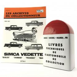 ARCHIVES DU COLLECTIONNEUR SIMCA V8