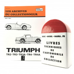 ARCHIVES DU COLLECTIONNEUR TRIUMPH TR3 - TR4