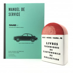 MANUEL D ATELIER SAAB 95, 96 V4
