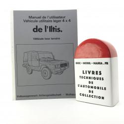 MANUEL D UTLISATEUR & ENTRETIEN VW ILTIS