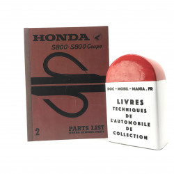 CATALOGUE DE PIECES DETACHEES HONDA S800