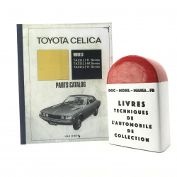 CATALOGUE DES PIECES DETACHEES TOYOTA CELICA TA 22