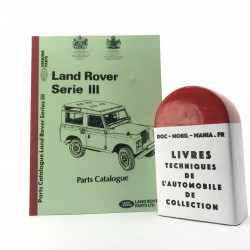 CATALOGUE DE PIECES DETACHEES LAND ROVER SERIE III