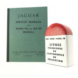 MANUEL D ATELIER JAGUAR MARK VII & XK 120