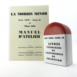 MANUEL D ATELIER MORRIS MINOR