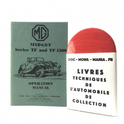 OPERATION MANUAL MG MIDGET TF