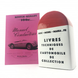 MANUEL DU CONDUCTEUR AUSTIN HEALEY 100