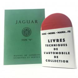 MANUEL DE CONDUITE JAGUAR TYPE E 3.8 L