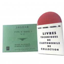 MANUEL DE CONDUITE JAGUAR TYPE SERIE 3 V12