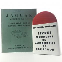 MANUEL DE CONDUITE JAGUAR XK 140