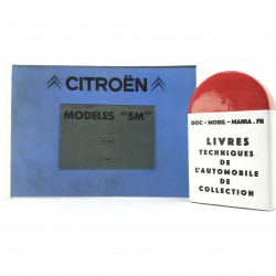 CATALOGUE DES PIECES DETACHEES CITROEN SM TOME 2