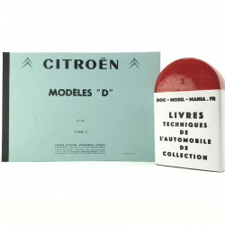 CATALOGUE DE PIECES DETACHEES CITROEN ID- DS TOME 2