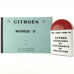 CATALOGUE DES PIECES DETACHEES CITROEN ID DS TOME 1