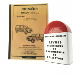 CATALOGUE SIMPLIFIE CITROEN MEHARI