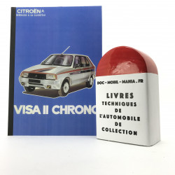 BROCHURE TECHNIQUE CITROEN VISA CHRONO