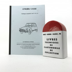 CATALOGUE SIMPLIFIE CITROEN DYANE