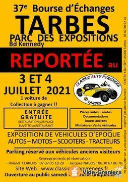 Bourse Auto Rétro de Tarbes le 3 et 4 juillet 2021