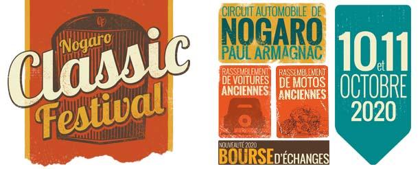 NOGARO CLASSIC FESTIVAL le 10 et 11 octobre 2020