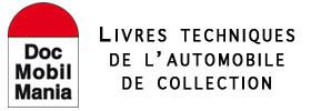 LIVRES TECHNIQUES POUR L'AUTOMOBILE ANCIENNE